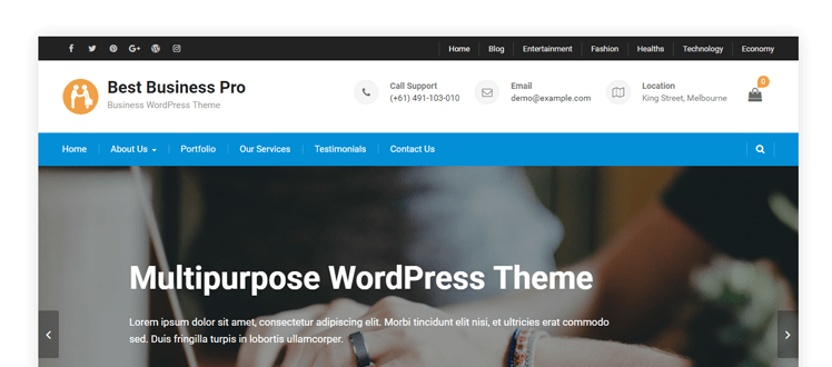 Best Business Pro - Axle Themes