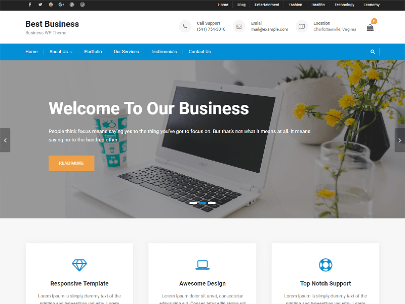 Best Business - Axle Themes